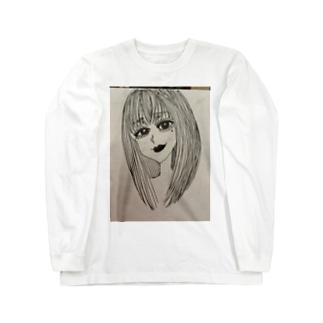 CUTE LADY Long sleeve T-shirts