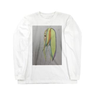 泣き虫女の子 Long sleeve T-shirts