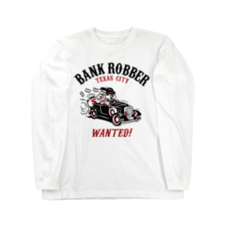 Bank Robber Long sleeve T-shirts