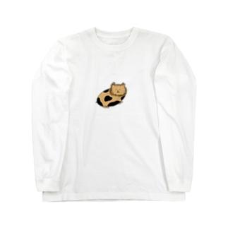 モルモット Long sleeve T-shirts