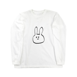 ぽんこつうさぎ Long sleeve T-shirts