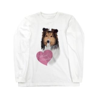 Shetland Sheepdog(シェルティ) Long sleeve T-shirts