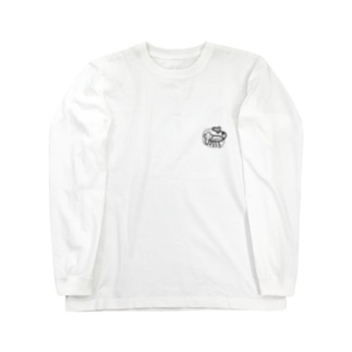 DJ KUWAGATAのお●んぽいぬ Long sleeve T-shirts