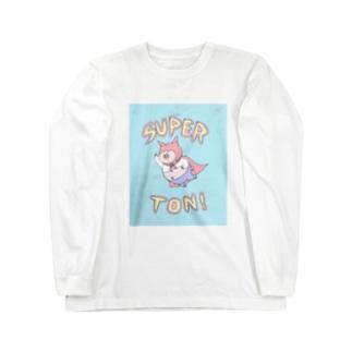 SUPER★TON Long sleeve T-shirts