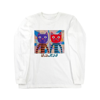 ジョン&パンチ(ロゴ入) Long sleeve T-shirts