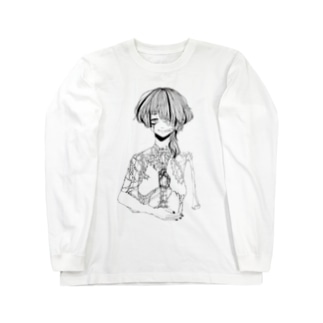 暴き Long sleeve T-shirts
