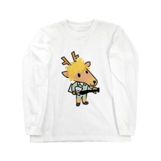 イケてるベースマン Long sleeve T-shirts