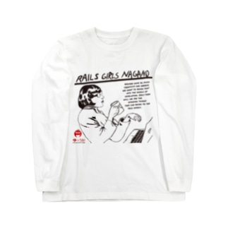 Rails Girls Nagano 1st Long sleeve T-shirts
