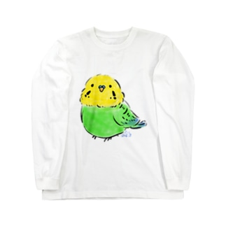 インコ Long sleeve T-shirts