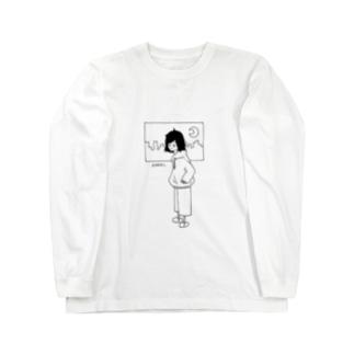 絶起ちゃん Long sleeve T-shirts