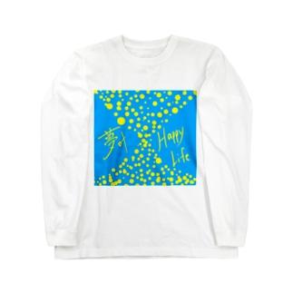 夢叶 Happy Life Long sleeve T-shirts