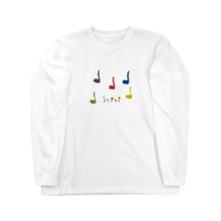 きみと、音モダチ Long sleeve T-shirts