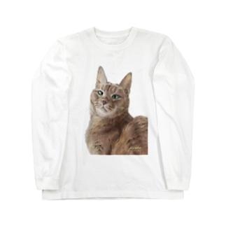 アビシニアンのいち夏ちゃん Long sleeve T-shirts