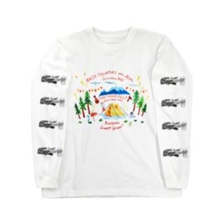 iso Brewing DesignのアウトドアFES Long sleeve T-shirts