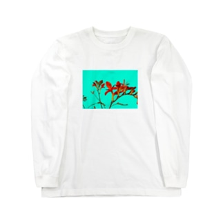 Crocosmia Long sleeve T-shirts