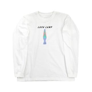 ラバランプ Long sleeve T-shirts