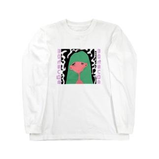 matsuge girl. Long sleeve T-shirts