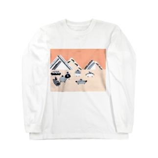 パンカーレース Long sleeve T-shirts