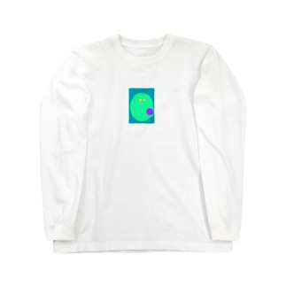 宇宙人 Long sleeve T-shirts