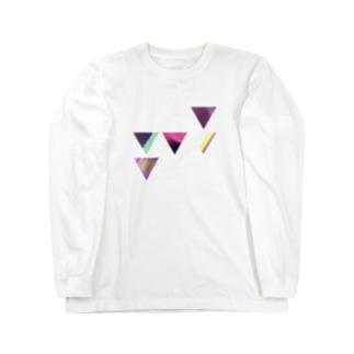 サンカク Long sleeve T-shirts