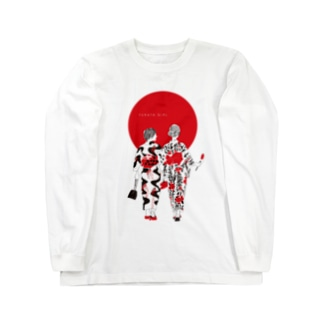 YUKATA GIRL Long sleeve T-shirts
