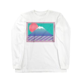 マウンテン ハイ Long sleeve T-shirts
