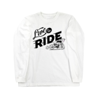 LIVE TO RIDE Long sleeve T-shirts