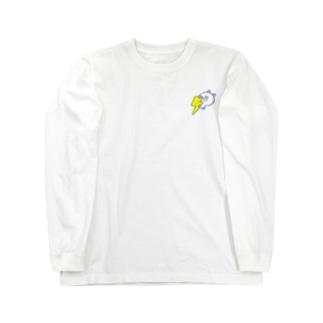 くまたそサンダー(熊色なしver) Long sleeve T-shirts
