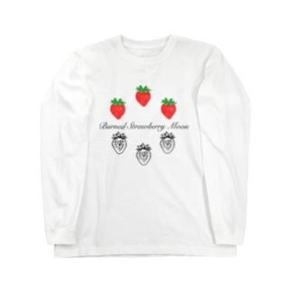苺とイチゴ Long sleeve T-shirts