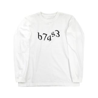 画像認証 Long sleeve T-shirts