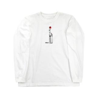 フラワーライター Long sleeve T-shirts