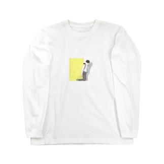 星野源線画 Long sleeve T-shirts