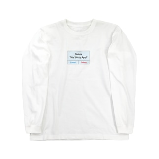 Delete App??? Long sleeve T-shirts