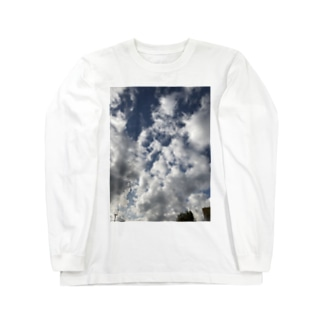 空と雲 Long sleeve T-shirts