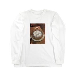 THE デブのデブT (小籠包) Long sleeve T-shirts