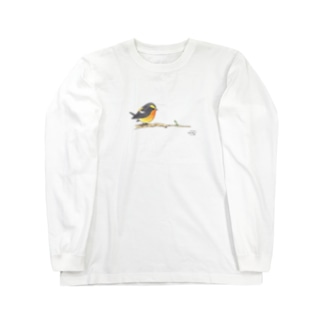 -KIBITAKI No.1- Bird call Long sleeve T-shirts