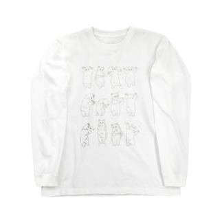 もふもふ体操第一 Long sleeve T-shirts