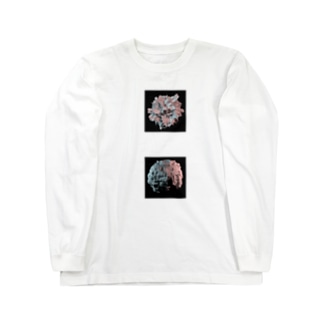 Burning Sphere Long sleeve T-shirts