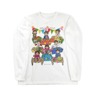 Let's play store!(片面印刷) Long sleeve T-shirts