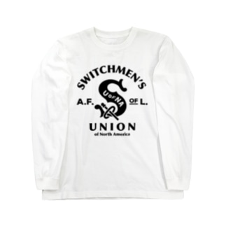 SWITCHMEN'S UNION Long sleeve T-shirts