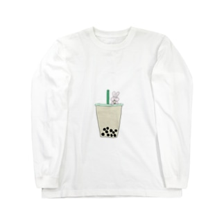 タピ飲みたい Long sleeve T-shirts