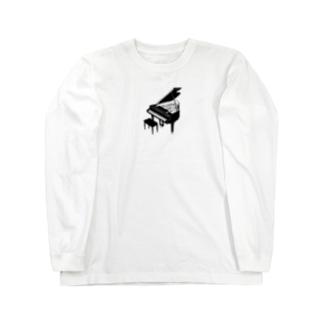 piano  Long sleeve T-shirts