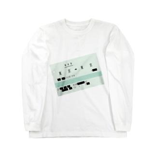 SCP-192-JP 私達のTOKYO Long sleeve T-shirts