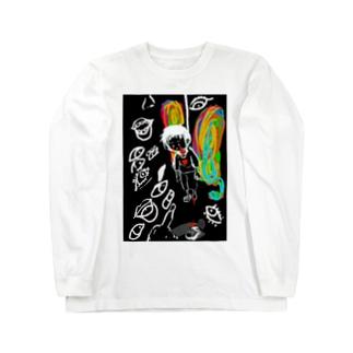 蝶 Long sleeve T-shirts