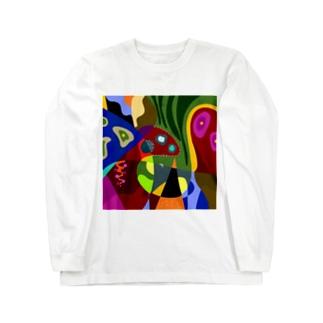 奥地 Long sleeve T-shirts