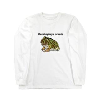 ベルツノさん Long sleeve T-shirts