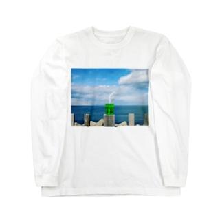 メロンソーダシリーズ00 Long sleeve T-shirts