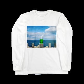 ユーサクのメロンソーダシリーズ00 Long sleeve T-shirts