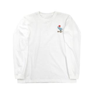 ぞうのはなみず Long sleeve T-shirts