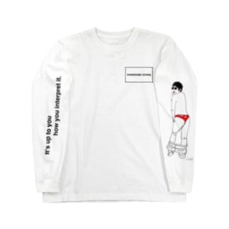 ハンサム落合(超てんこ盛りヤバイやつ) Long sleeve T-shirts